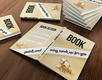 A5 Book mock up