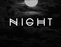 NIGHT Typeface