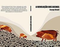 """Design editorial - livro - """"A revolução dos bixos"""