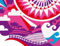 Beachdown Festival - Art Direction