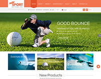 SW Sport - Responsive WordPress Theme