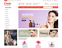 Responsive Magento Theme for Cosmetics store - SM Conie