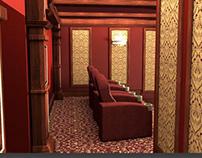 3D Interior Design Theater Preview
