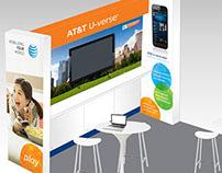 AT&T U-verse Trade Show Display