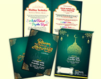 Muslim Invitation Design