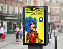 Affiche - Party de la rentrée UQO