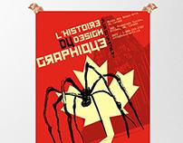 Affiche - L'histoire du design graphique