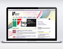Site Internet - Impératif français