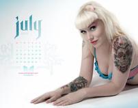 Dermagraph Calendar