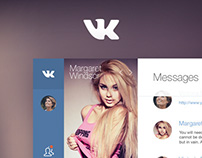 vkontakte.ru - Redesign Concept