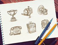 Icon and Teaser Sketches