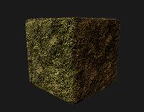 """Texture Moss  """"map Quixel """""""