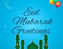 Eid Mubarak Greeting App