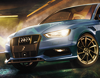 Audi ABT - Composing