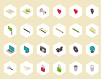 Simple 3D – Free Icon Set