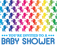 Rainbows & Unicorns Baby Shower