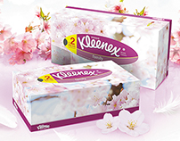 Дизайн-концепция POSm для Kleenex