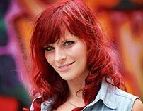Graffiti - red Hair