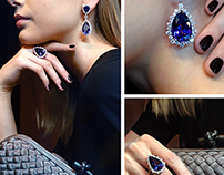 Jewellery photoshoot for Noblesse magazine