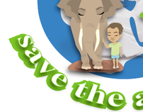 save the planet save the animals