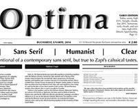 Type Specimen : OPTIMA