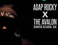 A$AP Rocky at The Avalon (CONCERT)