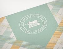 Du Bureau Du Chaton Logo & Stationery