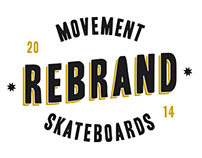 Movement Skateboards | Rebrand