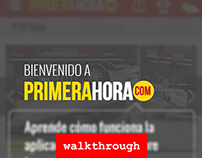 Primera Hora App Walkthrough