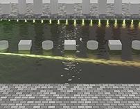 Creating a Water/Liquid Material