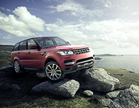 2014 Range Rover Sport | CGI, Photography & Retouching