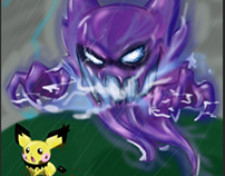 haunter and pichu