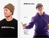 Discrete Headwear 2013 Ad Campaign
