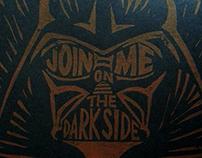 """""""Join Me"""" Block Print"""
