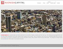 Avenida Capital Website