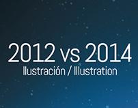 2012 vs 2014 - Illustration