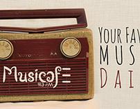 Music Cafe~Branding