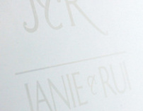 Janie & Rui - Wedding Invitation