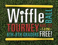 WIFFLE BALL TOURNEY 2014