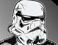 Storm Trooper Anarchy Poster