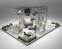 """Exhibition stand design for  """"Norm"""" cement"""