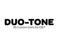 Duo-Tone (iPhone Icon Set)