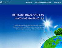 Sitio web Omega United