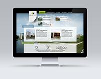 Development company web site - variant