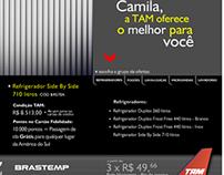 TAM Airlines - Parceria com Brastemp