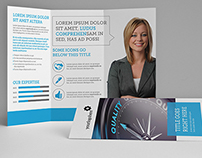 Clean Corporate Trifold
