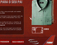 TAM Airlines - Dia dos Pais / Father's Day - 2002