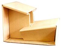 Zen carboard stool