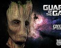Guardians of the Galaxy's Groot Speed Sculpting