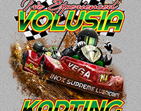Volusia Karting Shirt Design
